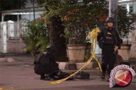 Polisi Jaga Ketat Lokasi Penusukan Anggota Brimob