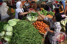 BPS: inflasi Oktober rendah karena harga bahan makanan terjaga