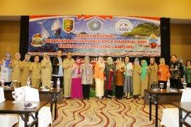 Hari Keluarga Nasional Ke XXIV 2017 Dipusatkan Di Lampung