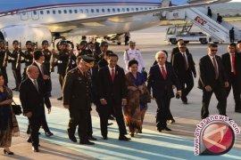 Cuaca Cerah Sambut Kedatangan Presiden Jokowi di Ankara