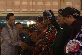 Ribuan orang sambut tahun baru di Malioboro