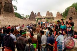Aktivis benarkan kebakaran Kampung Adat Grusina