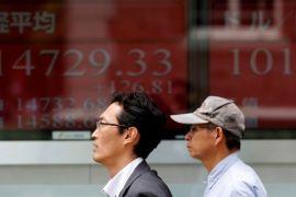 Indeks Nikkei-225 naik datar cuma 32 poin