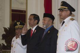 Presiden terima gubernur-wakil gubernur Aceh di Istana