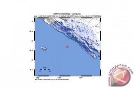 Gempa 4,7 SR guncang Krui Lampung