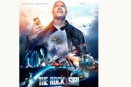 The Rock berperan dengan Siri di film iTunes
