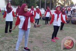 Peserta SMN Jateng Berlatih Tari Persembahan Bengkulu