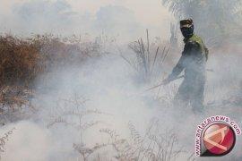Polisi Singkil cegah meluasnya kebakaran lahan