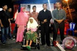 Penjahit bendera merah putih pertama di Malut wafat