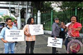 Aksi Koalisi Pejalan Kaki