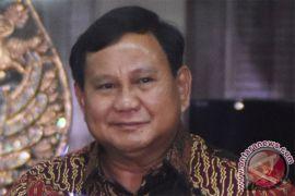 Prabowo minta Cagub Jateng turun ke masyarakat