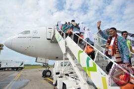 Pertamina pasok 2.347 KL avtur untuk penerbangan haji di Sepinggan