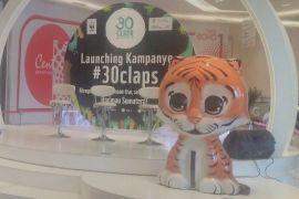 WWF kampanye #30Claps untuk harimau sumatera