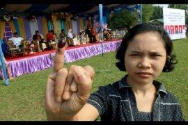 Pelaksanaan Pilkades Serentak di Sambas Lancar