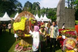 Bursa Florikultura Indonesia 2017 Diminati Warga