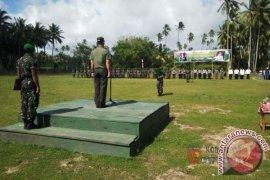 Kegiatan TMMD di Kabupaten Buru Resmi Ditutup