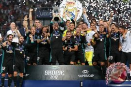 Real Madrid juara Piala Super Eropa 2017