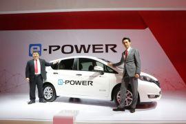 Nissan pamerkan mobil listrik masa depan BladeGlider dan Note e-POWER