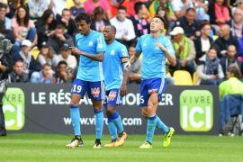 Marseille naik ke peringkat dua setelah kalahkan Caen