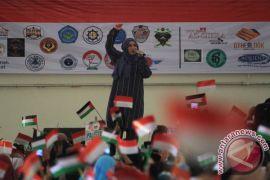 Melly Goeslaw bantah ikut aksi bela Palestina