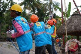 PLN pulihkan aliran listrik pascabanjir di Lombok