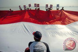 Pengibaran bendera di Penajam bakal pecahkan rekor