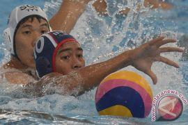 Indonesia cetak rekor, tahan imbang Singapura di polo air putra