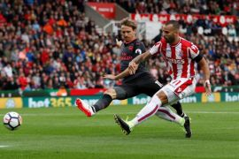 Lambert tinggalkan Stoke setelah klub terdegradasi