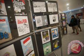 Lelang karikatur capres untuk korban bencana Sulteng