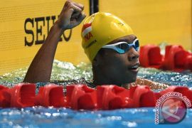 Fadlan pertajam rekornas 800 meter gaya bebas