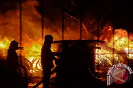 Lima orang meninggal akibat kebakaran di Malang
