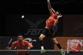 Fajar/Rian hentikan Ahsan/Hendra ke final Jerman Terbuka