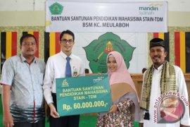 Bank Syariah Mandiri salurkan beasiswa prestasi