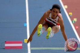 SEA Games 2017 - Maria Londa kawinkan medali perak nomor lompat putri