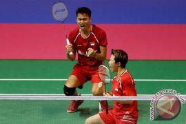 Tontowi/Liliyana jumpa Akbar/Winny di semifinal Singapura
