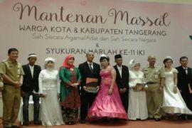 83 pasangan ikut Mantenan Massal IKI dan peroleh akta nikah