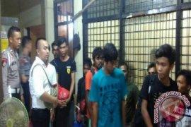 Polair Kepulauan Babel Titipkan 22 Tahanan Kasus Penambangan Ilegal