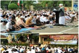 Shalat Idul Adha Dan Kurban 1438 H/2017 M Gubernur Lampung