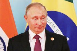 Putin katakan tidak masuk akal Rusia racuni mata-mata di Inggris