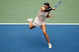 Maria Sharapova tersingkir dari AS Terbuka