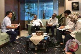 Irwandi bahas proyek strategis nasional dengan Menpupr