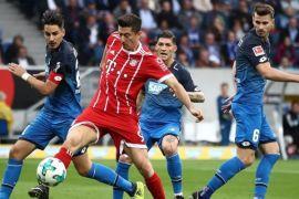 Hasil pertandingan 16 besar Piala Jerman