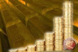 Emas berjangka naik tipis, dolar AS melemah