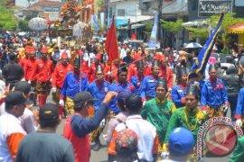Empat Puluh Delegasi Keraton Nusantara Ikuti Kirab Agung Prajurit