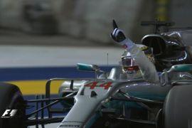 Hamilton rebut pole position GP Singapura