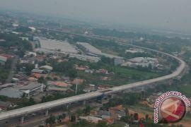 LRT Palembang diujicobakan tengah bulan ini