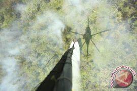 Enam helikopter atasi kebakaran lahan-hutan Riau