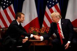 Macron-Trump pernah diskusi soal perdamaian Timur Tengah