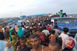 Bantuan RI dinikmati pengungsi Rohingya, relawan AKIM tiba di Dhaka