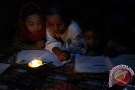 Bogor gelap kampanye hemat energi Hari Bumi